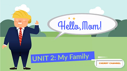 Fingerprints 1 - Unit 2: My Family - Lesson 1: Hello Mom